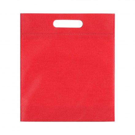 Промо сумка из спанбонда простая, 21х29 см, красная