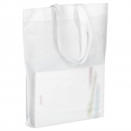 Промо сумка из спанбонда с ручками