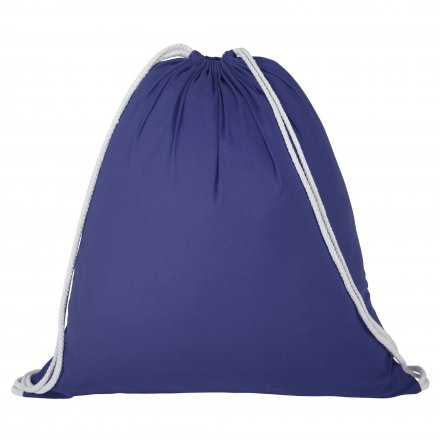Промо рюкзак из хлопка, синий