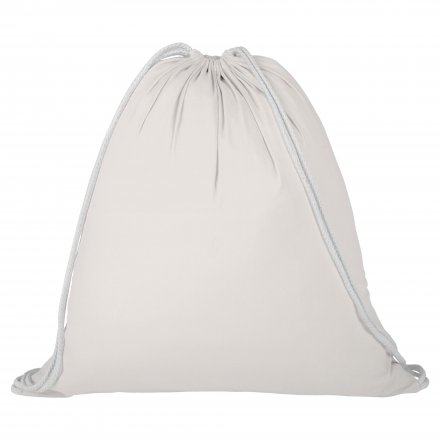 Промо рюкзак из хлопка, неокрашенный