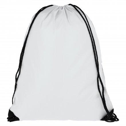 Промо рюкзак из oxford 210d, белый