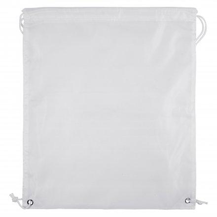 Рюкзак для сублимации из оксфорда 210T, белый