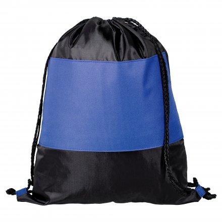 Промо рюкзак из oxford 210d/600d, синий с черным