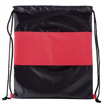 Промо рюкзак из oxford 210d/600d, красный с черным