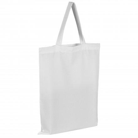 Промо сумка для покупок для сублимационной печати, белая