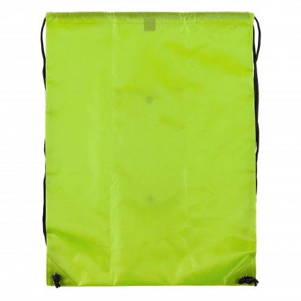 Промо рюкзак складной из оксфорда 210d, неон-жёлтый