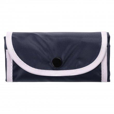 Промо рюкзак складной из оксфорда 210d, темно-синий