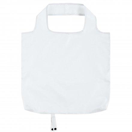 Складная промо сумка из оксфорда 210d, белая