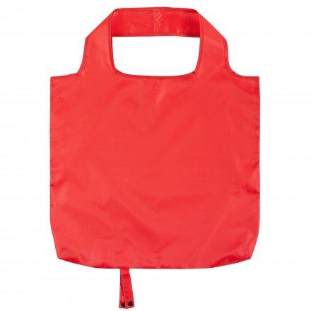 Складная промо сумка из оксфорда 210d, красная