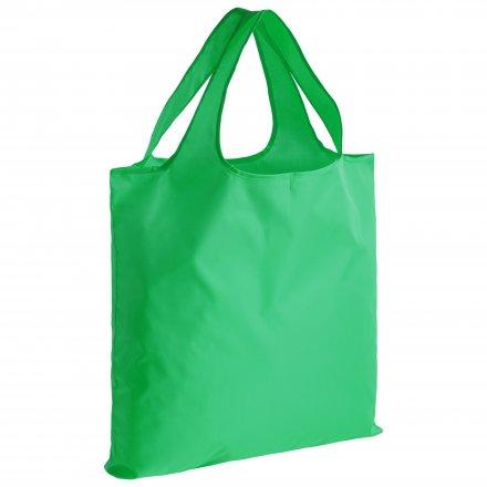 Складная промо сумка из оксфорда 210d, зеленая