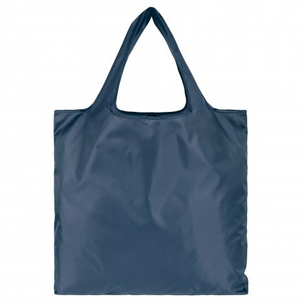 Складная промо сумка из оксфорда 210d, тёмно-синяя