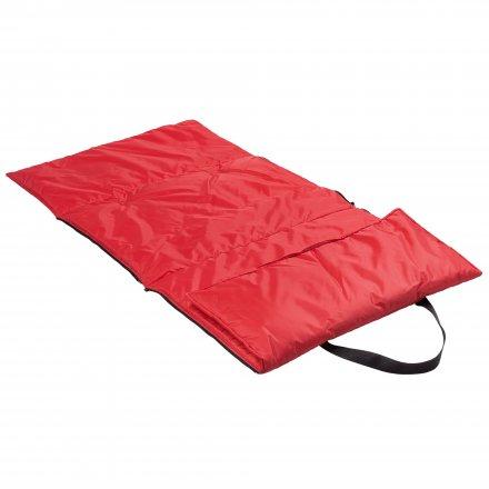 Пляжная сумка-трансформер из оксфорда 210d, красная