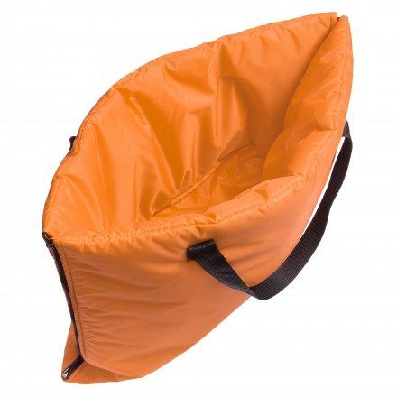 Пляжная сумка-трансформер из оксфорда 210d, оранжевая