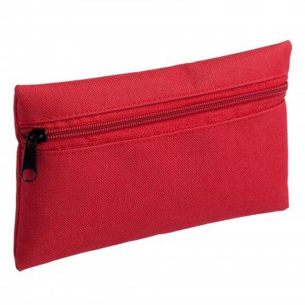 Косметичка - пенал из оксфорда 600D, красная