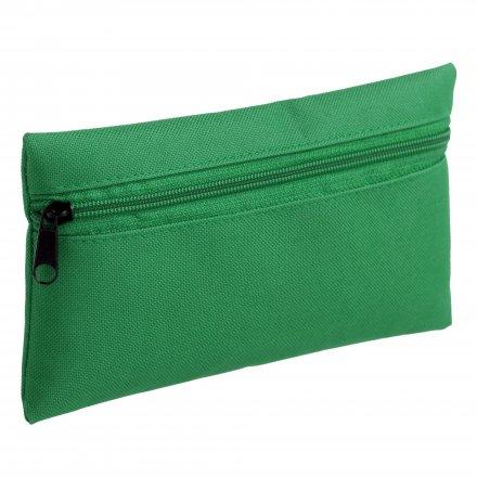 Косметичка - пенал из оксфорда 600D, зелёная