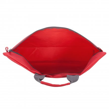 Конференц-сумка с ручкой из оксфорда 600D, красная