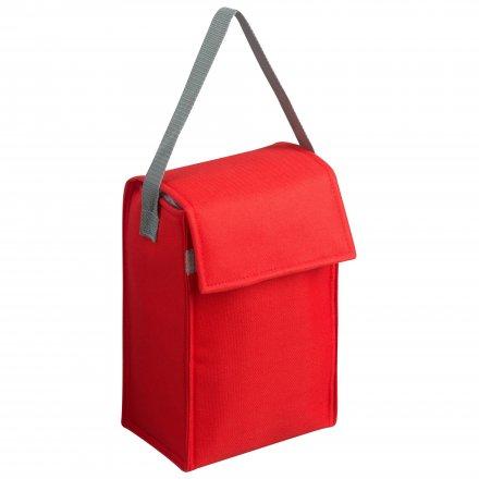 Сумка-холодильник из оксфорда 600D, красный