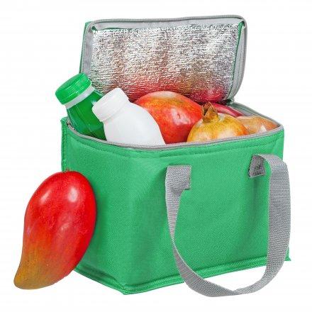 Сумка-холодильник для 6 банок из оксфорда 600D, зеленый