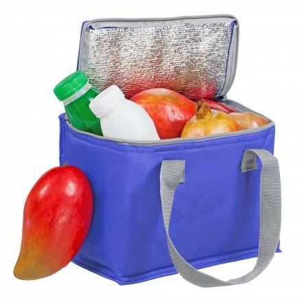 Сумка-холодильник для 6 банок из оксфорда 600D, синий