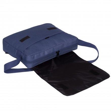 Конференц-сумка из оксфорда 600D, с клапаном