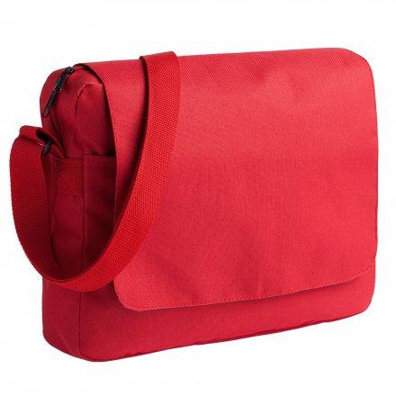 Конференц-сумка из оксфорда 600D, красная