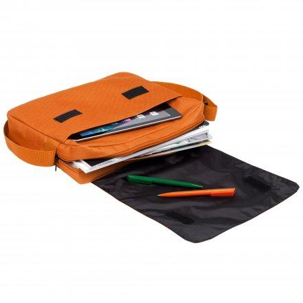 Конференц-сумка из оксфорда 600D, оранжевая