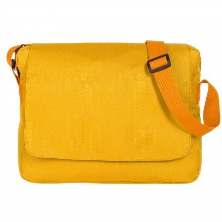 Конференц-сумка из оксфорда 600D, жёлтая