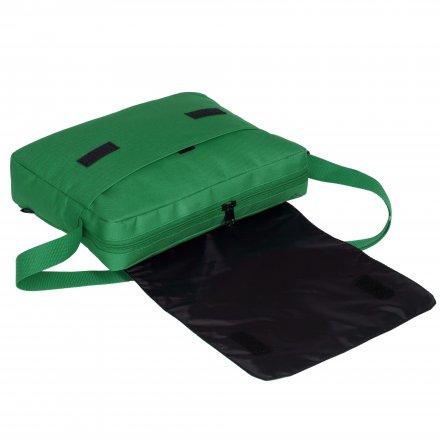 Конференц-сумка из оксфорда 600D, зелёная