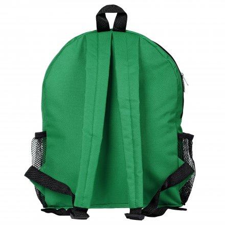 Рюкзак из оксфорда 600D с боковыми карманами, зелёный