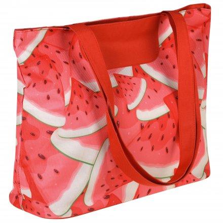 Пляжная сумка из оксфорда 600D, принт Арбуз
