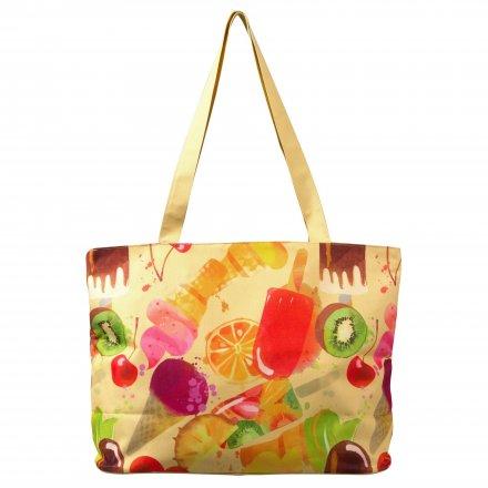 Пляжная сумка из оксфорда 600D, Мороженное