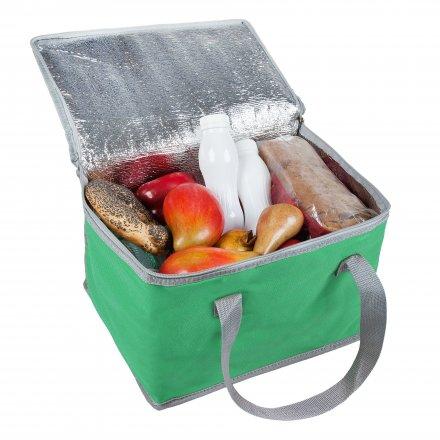 Сумка-холодильник средний из оксфорда 600D, зелёный