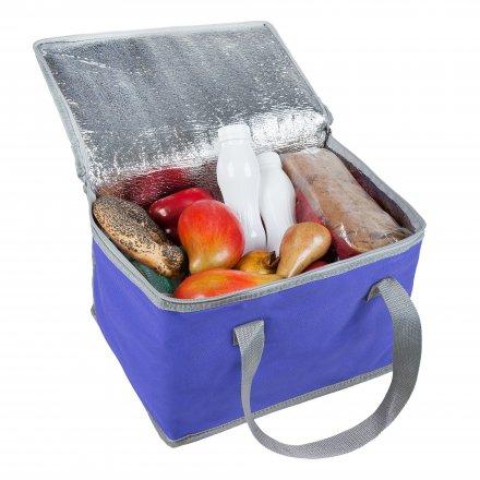 Сумка-холодильник средний из оксфорда 600D, синий