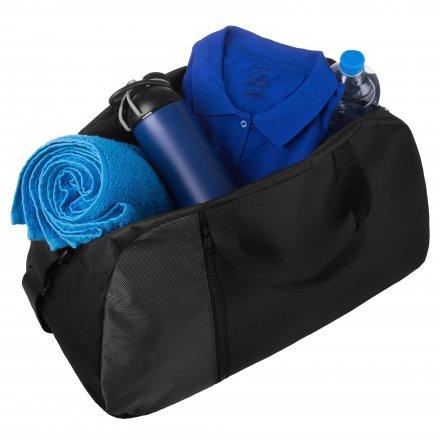 Дорожная сумка из полиэстра 600D, черная
