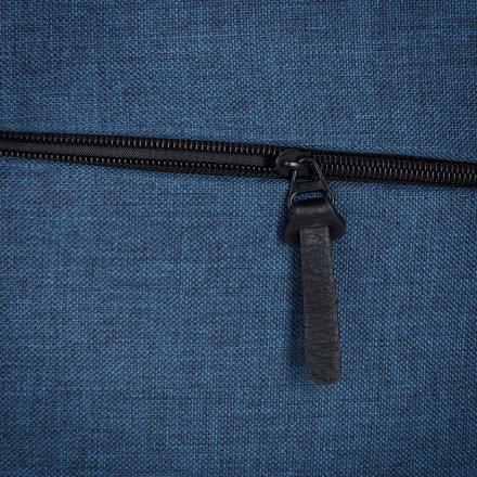 Промо конференц сумка из полиэстра 600D, синяя