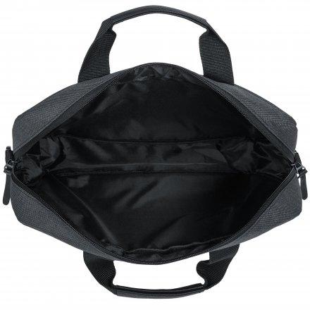 Промо конференц сумка из полиэстра 600D, тёмно-серая
