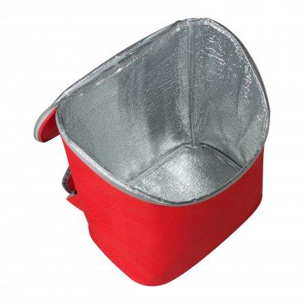 Изотермический рюкзак из оксфорда 600D, красный