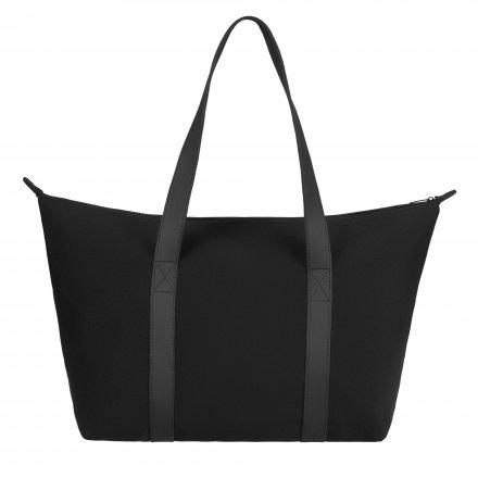 Повседневная сумка из неопрена и полиэстра 210D, черная