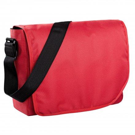 Сумка для ноутбука из полиэстра, красная