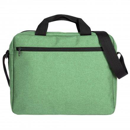Конференц сумка через плечо из оксфорда 600D, зелёная