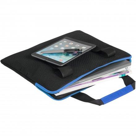 Конференц-сумка из оксфорда 600D, два цвета материала