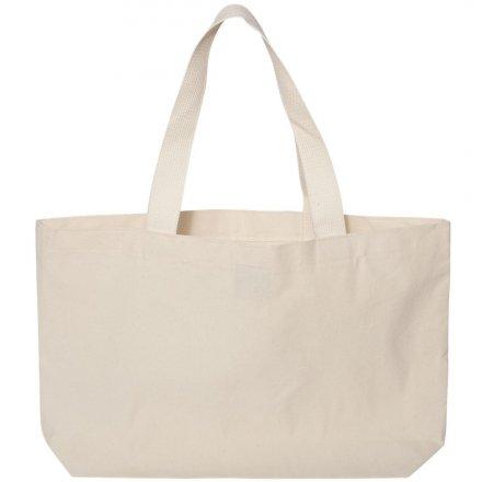Холщовая сумка из бязи 50х40х10 см, горизонтальная