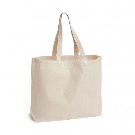 Холщовая сумка из бязи 40х40х10 см, квадратная