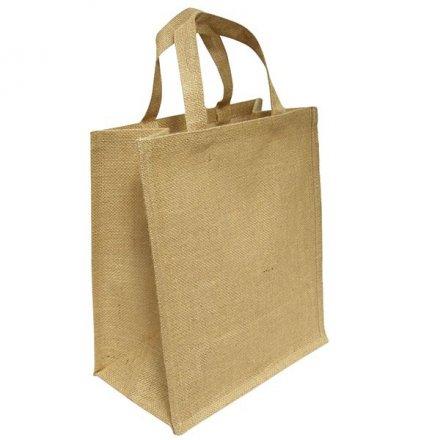 Промо сумка из джута 40 х 50 х 10
